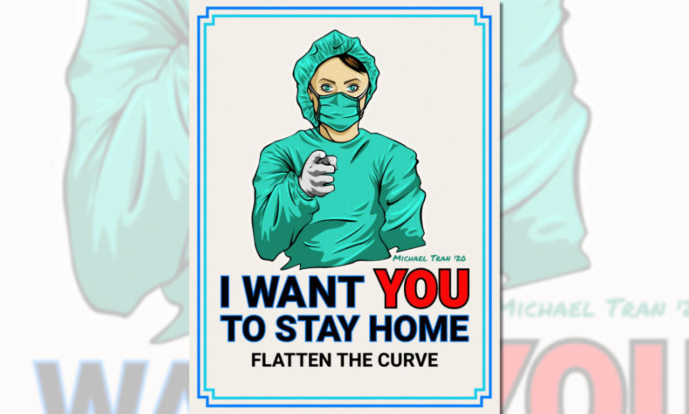 Stay Home Poster #100days100commissions Entry